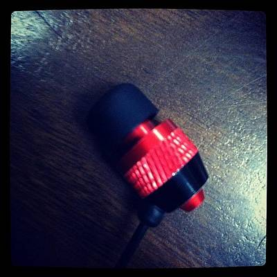 I Phone Photograph - Love For Earphones by Akim  Lai-Fang