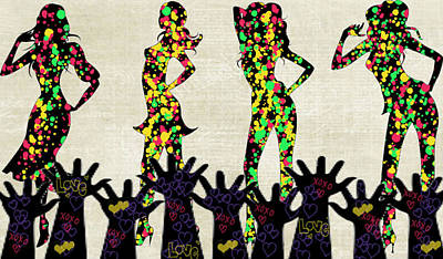 Love Girls Art Print