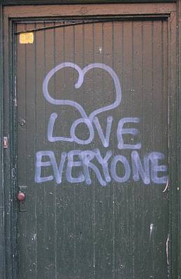 Photograph - Love Graffiti  by Christopher James