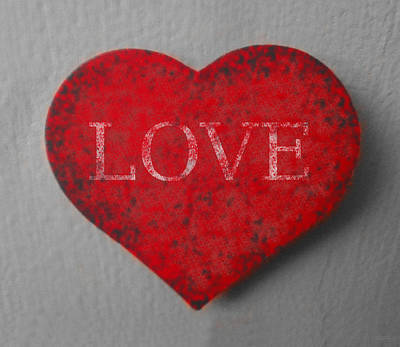 Love Heart 1 Art Print by Richard Reeve
