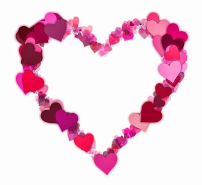 Valentines Day Digital Art - Love Heart by Daniel Hagerman
