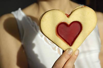 Love Heart Valentine Art Print by Matthias Hauser