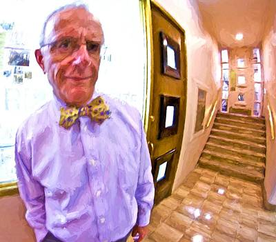 Photograph - Love His Bow Tie by Alice Gipson