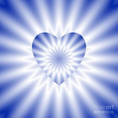 Digital Art - Love In Disguise The Blues by Rose Santuci-Sofranko