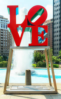 Photograph - Love Statue by Boris Mordukhayev