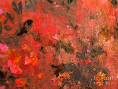 Painting - Love In Red 3 by Nancy Kane Chapman