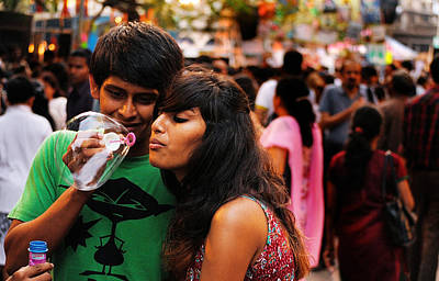 Photograph - Love In The Air by Money Sharma