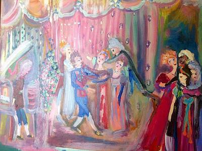 Ballroom Painting - Love In The Making by Judith Desrosiers