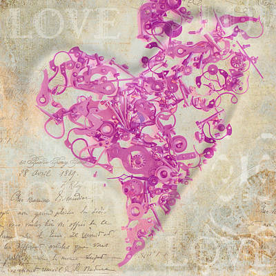 Love Is A Gift Art Print by Fran Riley