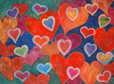 Painting - Love Is All Around by Lynda Hoffman-Snodgrass