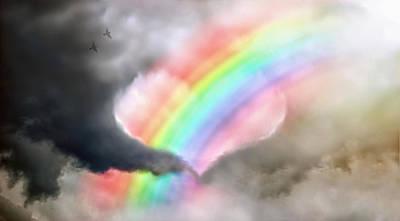 Storm Digital Art - Love Is Beautiful by Matt Molloy