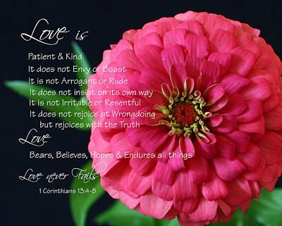 Love Is.... Original by Cheryl Burkhardt