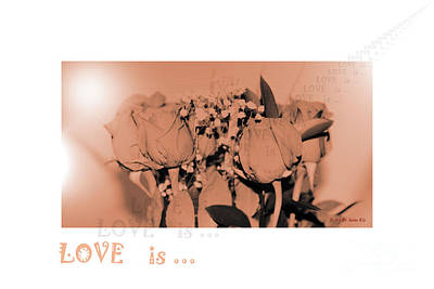 Create A Art Collection Photograph - Love Is... Romantic Collection. Wedding Collection by Oksana Semenchenko