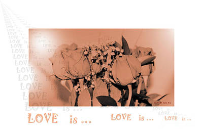 Photograph - Endless Love. Love Is... Collection 13. Romantic by Oksana Semenchenko