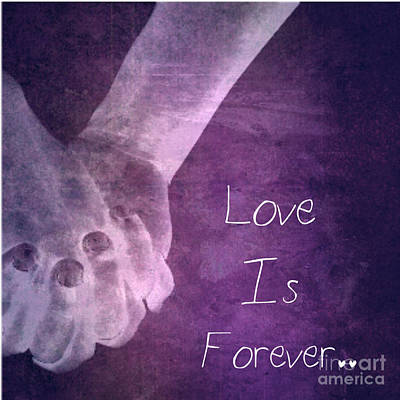 Mike Grubb Wall Art - Photograph - Love Is Forever by Michael Grubb