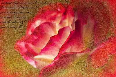 Collier Digital Art - Love Is In The Air by Francine Collier