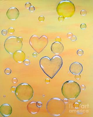 Painting - Love Is In The Air by Karen Jane Jones