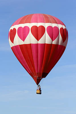 Balloon Festival Photograph - Love Is In The Air by Mike McGlothlen