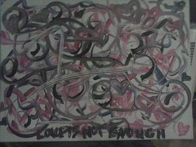 Love Is Not Enough Art Print by Jaci Standridge