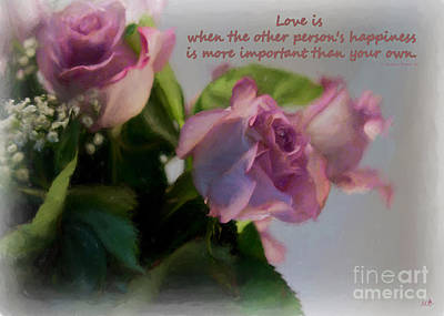 Photograph - Love Is..... by Sandra Clark