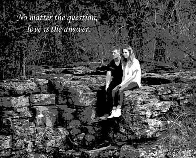 Photograph - Love Is The Answer by Deena Stoddard