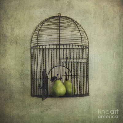Love Is The Key Art Print by Priska Wettstein