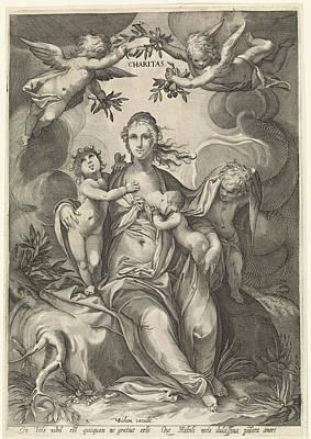 Love, Jan Saenredam, Anonymous, Hendrick Goltzius Art Print