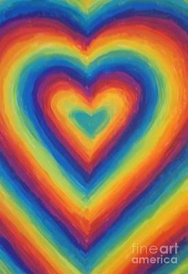 Love Art Print by Jedidiah Morley