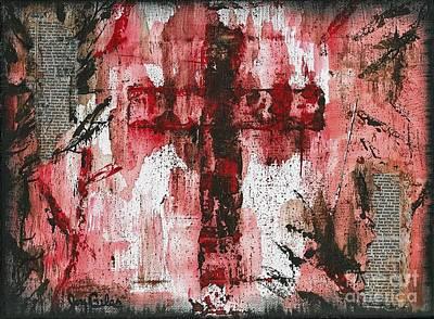 Disciples Mixed Media - Love by Joy  Kelley-Giles