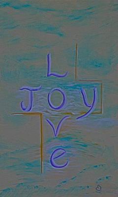 Love Joy Art Print by Mary Grabill