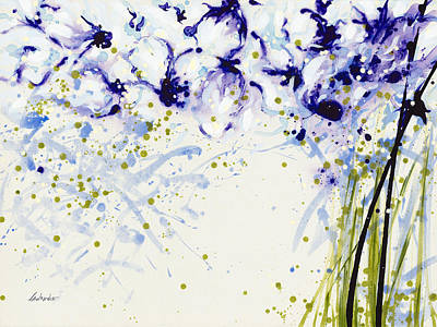 Painting - Love Lasts Lilke Lavish Shower Baths by Jerome Lawrence