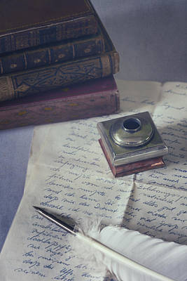 Inkwells Photograph - Love Letter by Joana Kruse