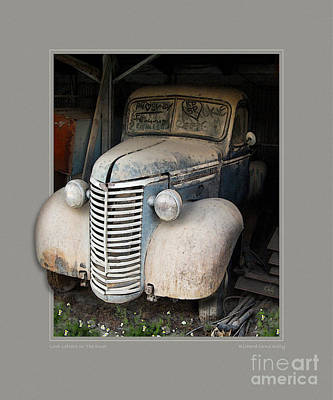 Love Letters In The Dust Art Print by Rick Kelly