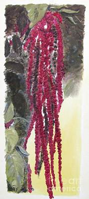 Painting - Love Lies Bleeding by Pat Craft