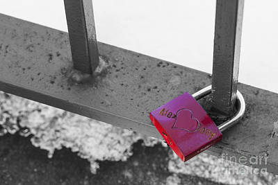 Photograph - Love Lock by Diane Macdonald