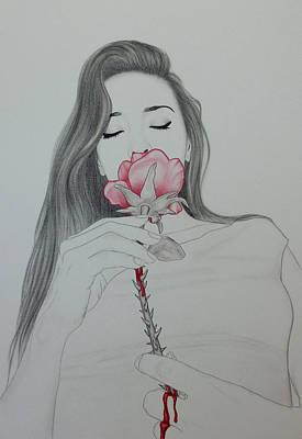 Drawing - Love by Lynet McDonald