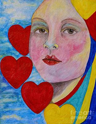 Painting - Love Me Do  by Jane Chesnut