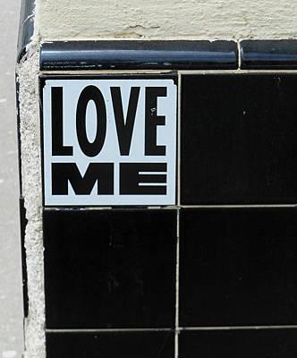 Love Me Art Print by Gia Marie Houck