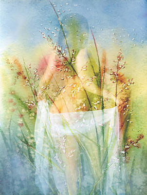Painting - Love Me In The Misty Dawn by Georgiana Romanovna