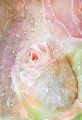 Mixed Media - Love Me Tender - Elvis Rose by Carol Cavalaris