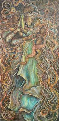 Love Moves Us Art Print by Carl Geenen