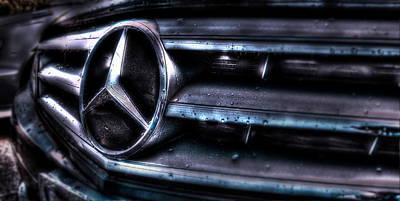 Love My Benz Art Print
