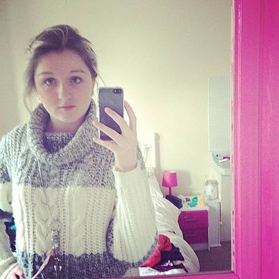 Young Girl Photograph - Love My Jumper #jumper #cosy #warm by Sophie  Jones