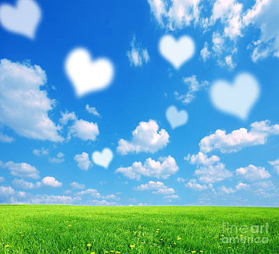 Love Photograph - Love Nature Background by Michal Bednarek
