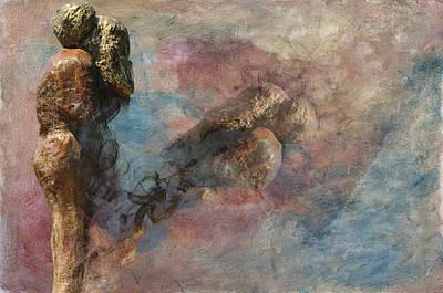 Digital Art - Love Never Dies by Davina Washington