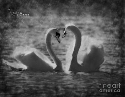 Love... Art Print by Nina Stavlund