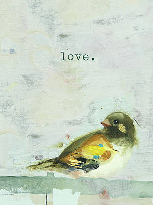 Day Painting - Love by Ninalee Irani