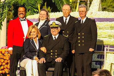 Photograph - Love Boat Crew by Robert Hebert
