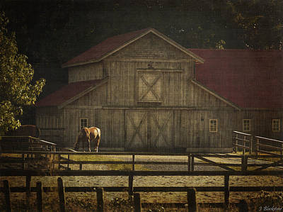 Old Country Roads Digital Art - Love Of Country Vintage Art By Jordan Blackstone by Jordan Blackstone