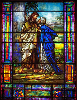 Glass Art Photograph - Love Of Jesus by Mountain Dreams